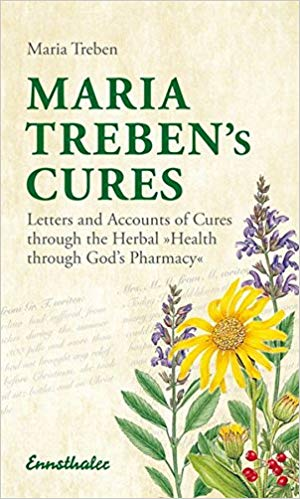 The book, Health through God's Pharmacy by Maria Treben has captured the imagination of many people worldwide. It has been in print since 1980 and has been translated into 26 languages. Maria Treben's extensive knowledge of medicinal herbs, her recipes and her health tips have helped countless people on their way to recovery. In great modesty, she always stressed that these cures are possible, not because of her, but through the goodness of God, who has provided us with medicinal herbs.  Thisbook is a compilation of excerpts from letters which have been sent to the author by grateful readers from all walks of life. These thank-you letters and healing reports endorse the efficacy of this ancient knowledge of medicinal herbs and, show that, with the will to recover, successful healing is possible.  Maria used traditional German/Eastern European remedies handed down by previous generations. She only used local herbs and always accompanied her remedies with advice on diet. She commonly used Thyme, Greater Celandine, Speedwell, Camomile, Nettle and Lady's Mantle. She treated a broad range of conditions from psoriasis to constipation and diabetes to insomnia. She used her own recipes as well as traditional healing remedies like Swedish bitters that she believed was a cure-all. Some of her remedies and advice proved to be controversial as with all natural health cures it is difficult to prove their efficacy. Yet, to this day she is widely read and referred to for her knowledgeof European medicinal herbs.